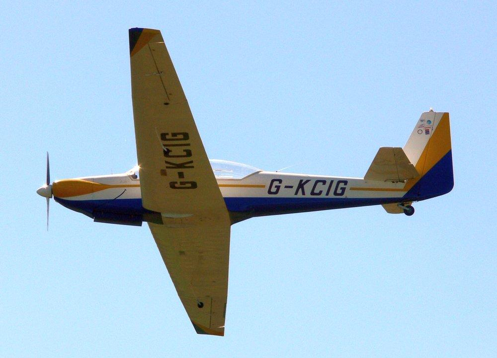 G-KCIG overhead