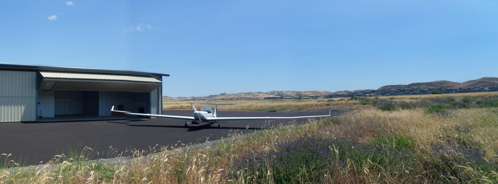 Arrival at Home - New Hangar