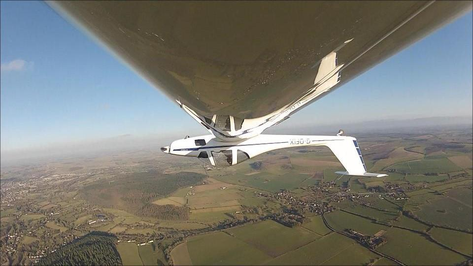 Upside Down Over the UK