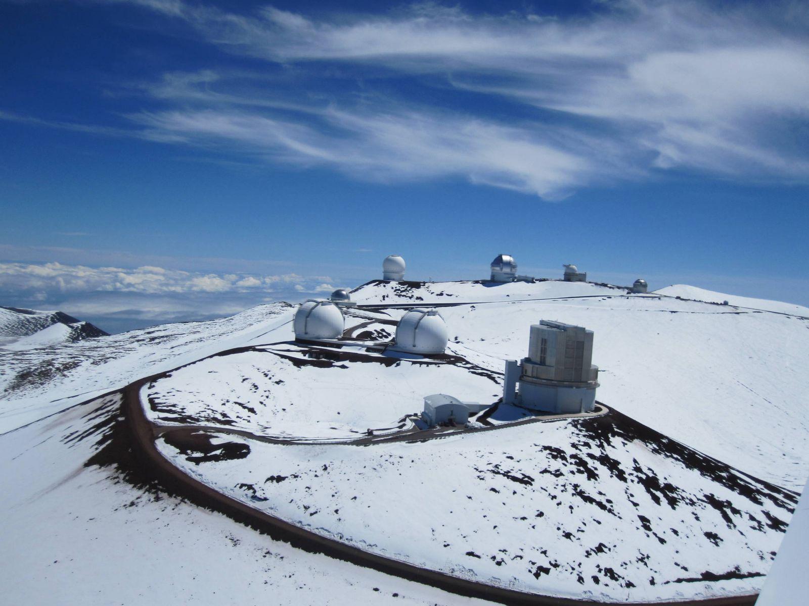 Mauna Kea Montain Spring 2012