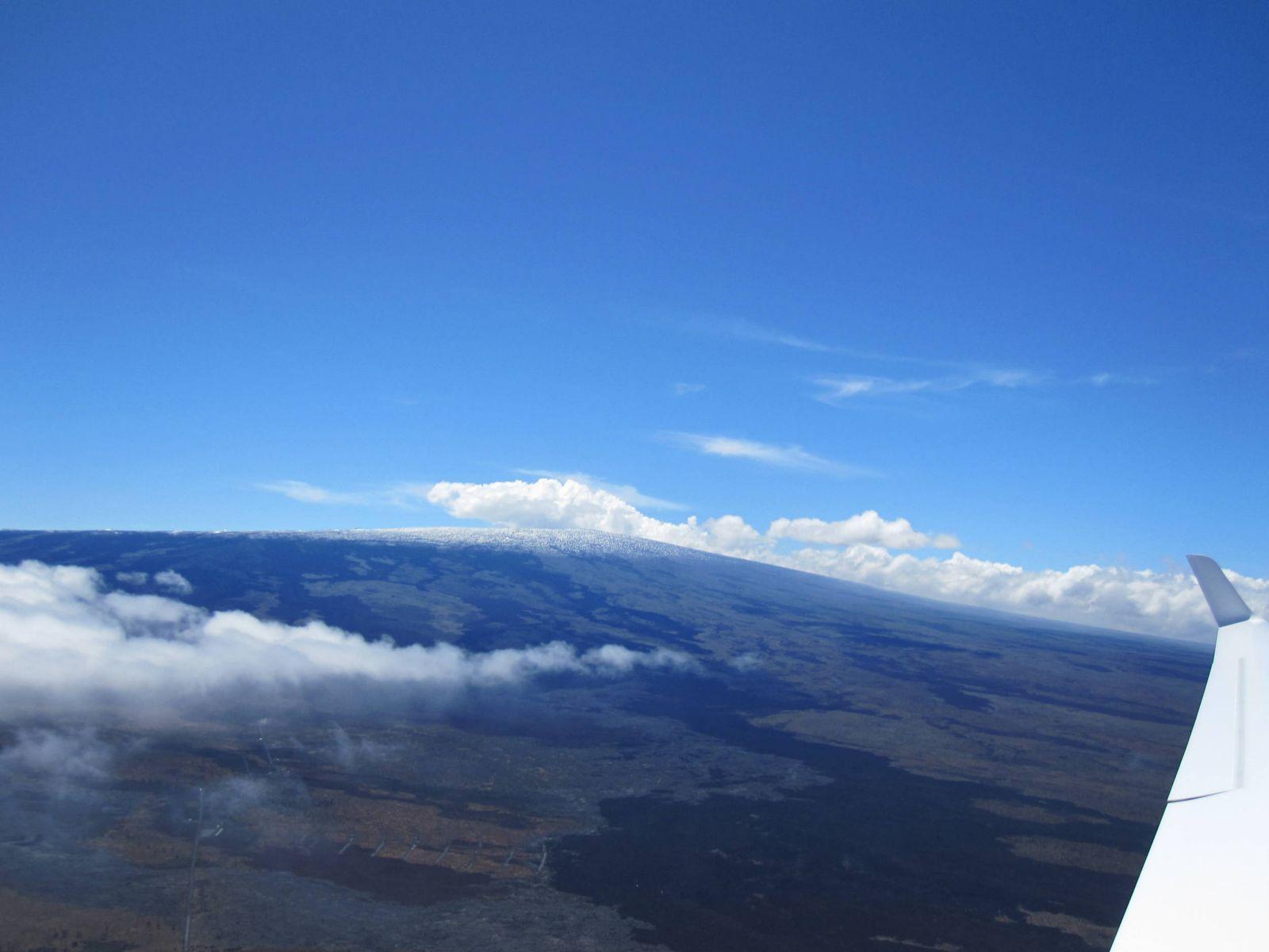 View toward Mauna Loa Mountain