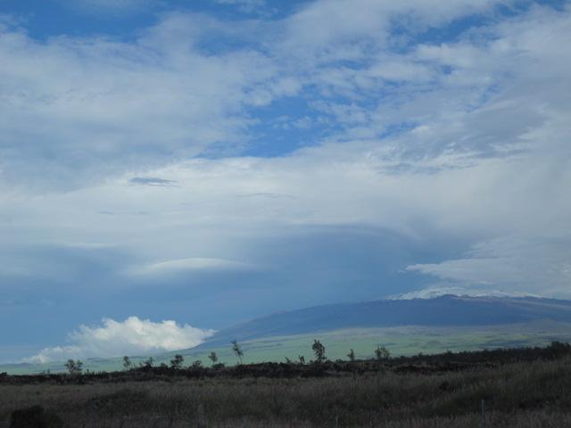 Lenticular Clouds over Mauna Kea