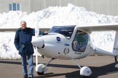 Pipistrel Sinus Motor Glider ready for Sun-N-Fun 2011