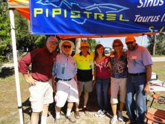 The Happy Pipistrel Crew before the Tornado