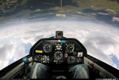 Lark IS-28M2 cockpit
