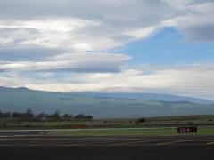 Lenticular Clouds over Mauna Kea