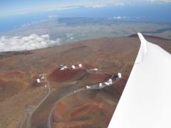 View of Mauna Kea in the summer of 2012