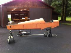 Preparing fuselage