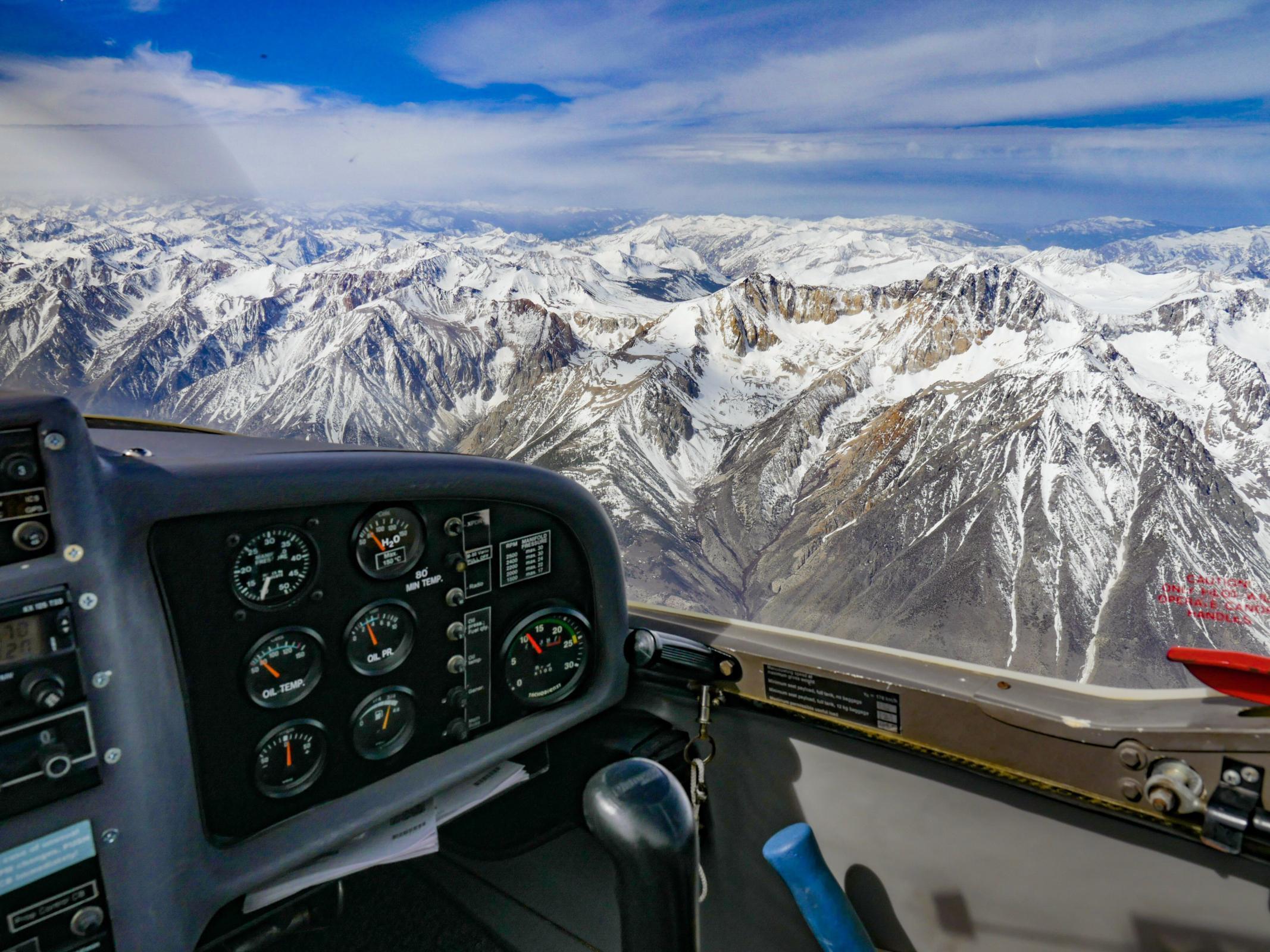 Southbound in Sierra Wave